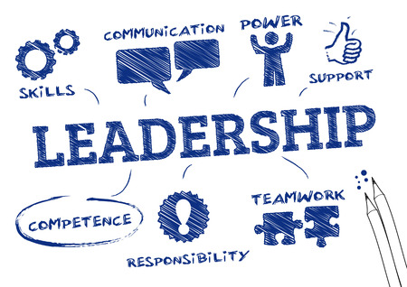 29497747 - leadership concept   chart with icons and keywords