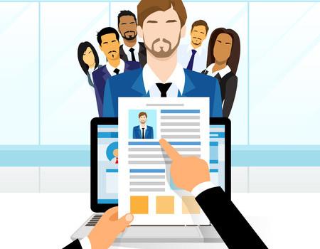 38530490 - curriculum vitae recruitment candidate job position